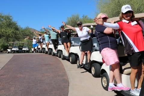 Women on Course Women's Golf Fun