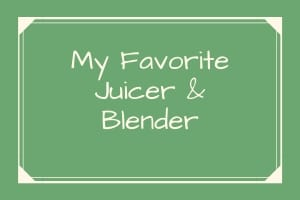 Blender and Juicer Reviews