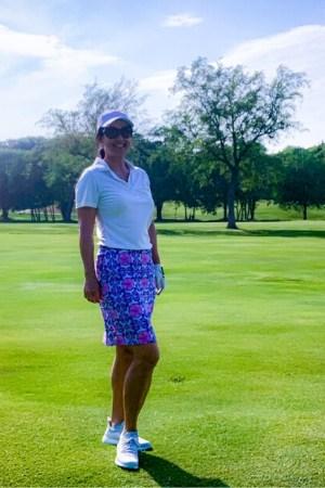 Lynn on the Links on Golf Course