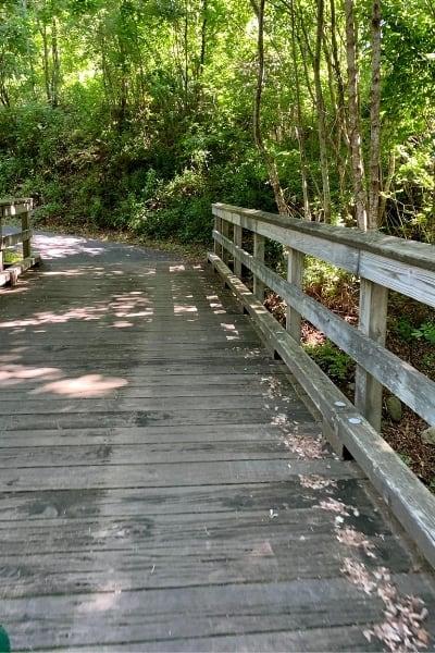 Widows Walk Golf Course Walking Bridge