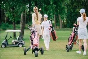 Carts, Pushcart Golf Etiquette