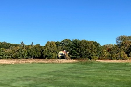 Donald Ross Home at Essex County Club from Hole