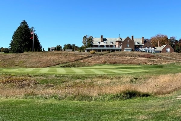 Essex County Club Clubhouse from Fairway