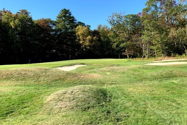 Essex County Club - Mounds by Donald Ross