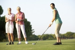 First Tee Jitters?  Nervous When Others Are Watching?
