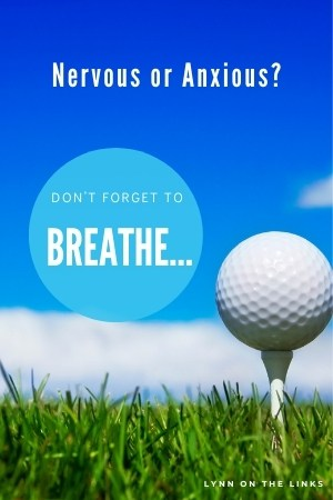 First Tee Jitters in Golf