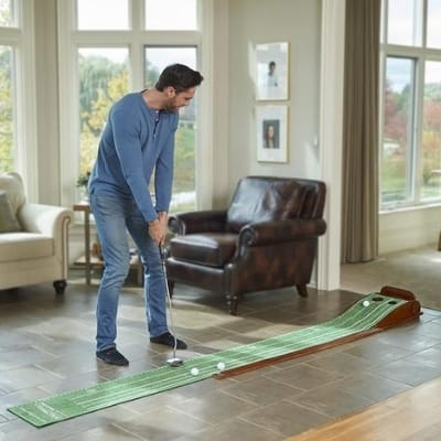 Great Golf Gifts - Perfect Practice Putting Mat