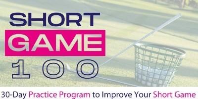 Short Game Practice Plan