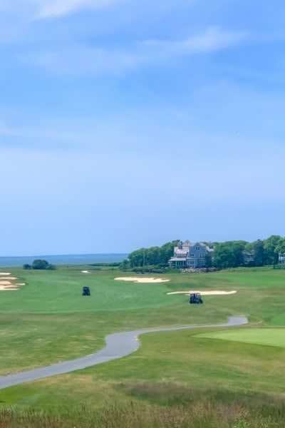 From the Clubhouse Ocean Course Club at New Seabury Mashpee