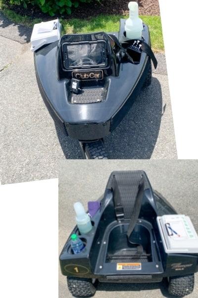 Remote Control Club Car at Club of New Seabury