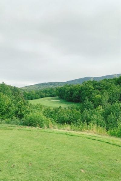 Sunday River Golf Club 10th Hole