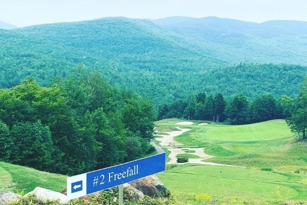 Sunday River Golf Club Hole 2 Freefall