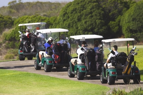 Golf Carts Helps Pace of Play